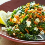 Greens on Brown Rice