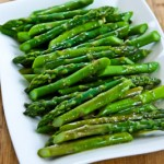 Asparagus with Lemon Mustard