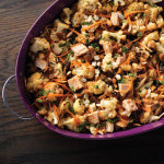 Roast Cauliflower and Tuna