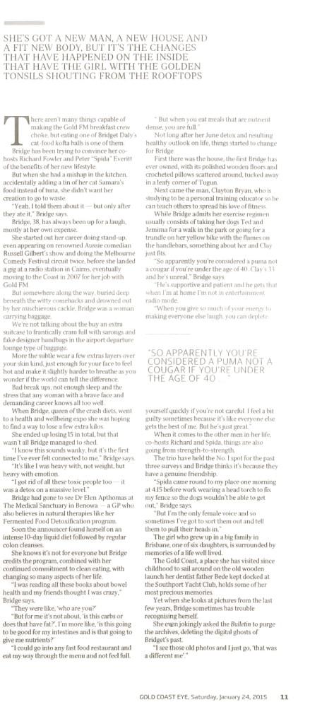 Golden Girl Article